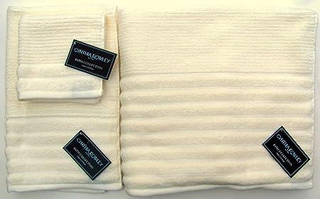 Cynthia Rowley Towel Set 3 Pieces Bath Towel Hand Towel And
