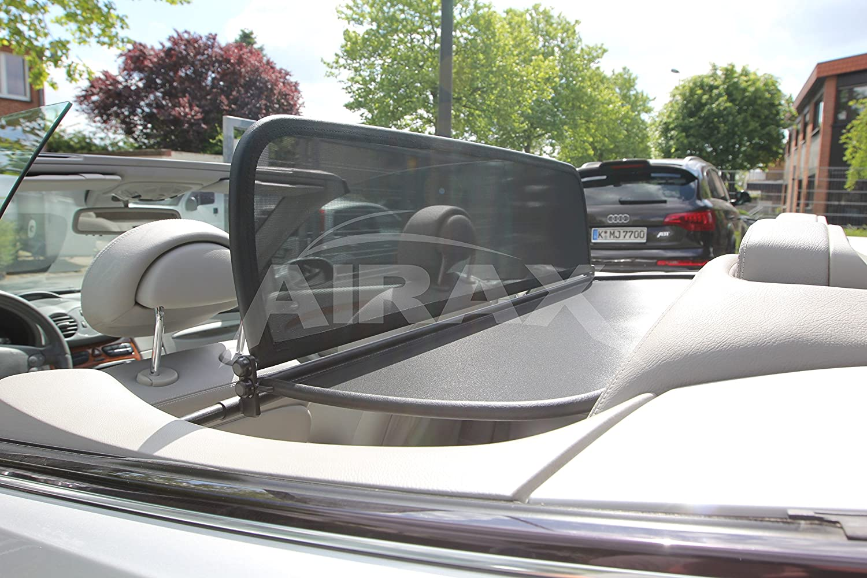 Airax Windschott f/ür CLK A 209 A209 Cabrio Windabweiser Windscherm Windstop Wind deflector d/éflecteur de vent