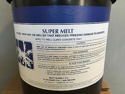 Amazon.com: Melt Ice Melt/100 libra 2 x 50 libras Ial Cajas ...