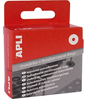 APLI 116 - Caja con 200 arandelas translúcidas (13 mm)