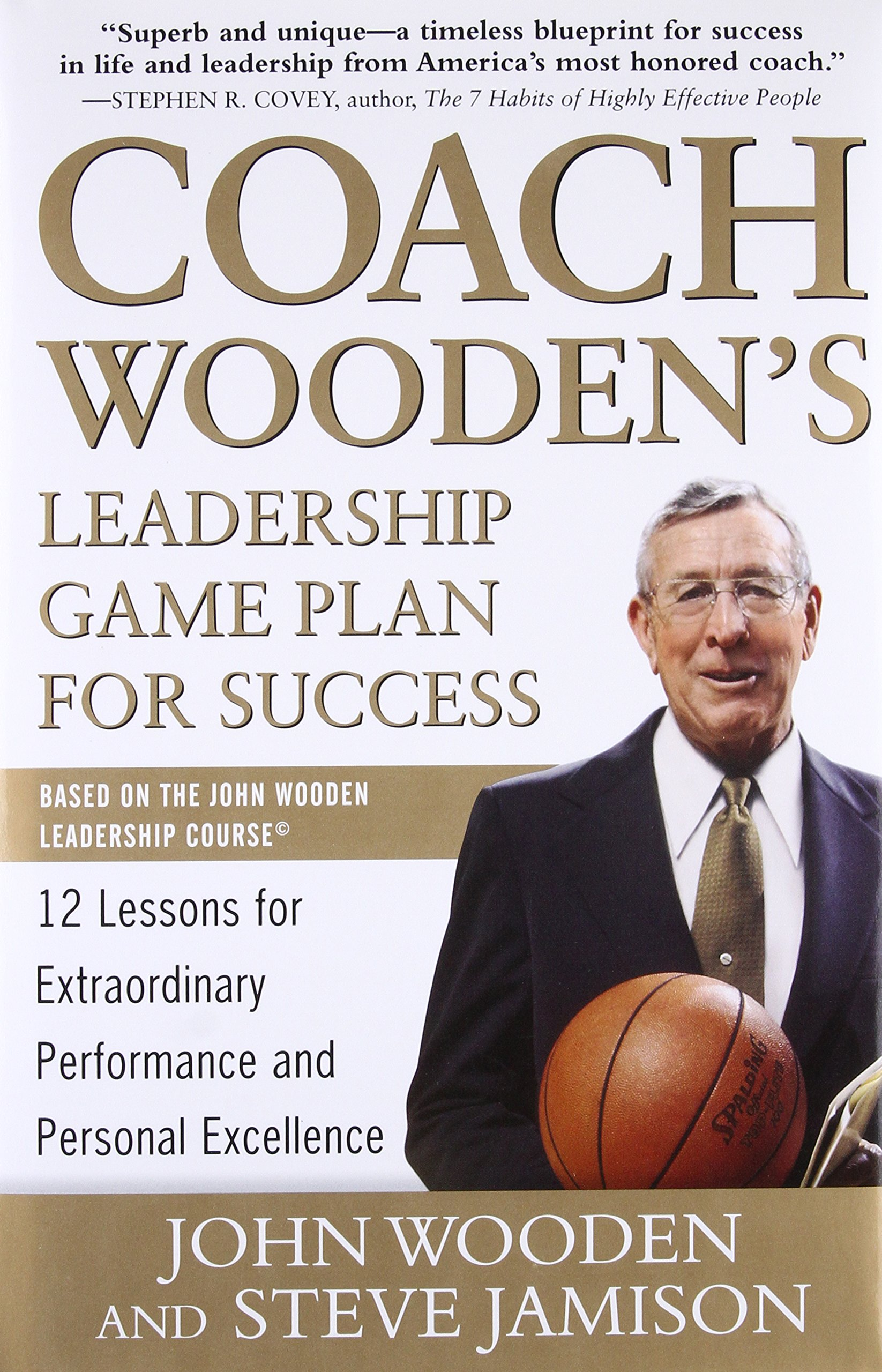 Coach Woodens Leadership Game Plan For Success 12 Lessons For