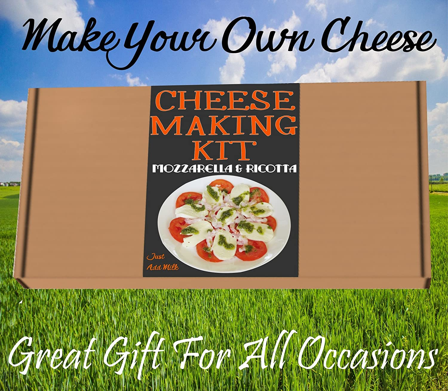 Cheese Making KIT Authentic Italian Mozzarella & Ricotta=Great Gift=Make Your Own Cheese best4kits