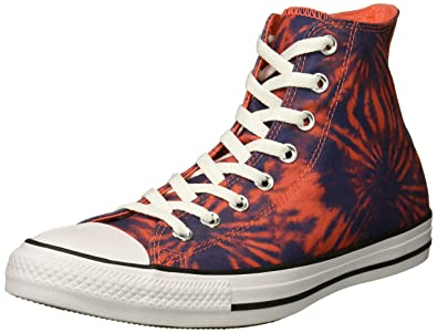 b4ff6f9c4a3419 Converse Men s Chuck Taylor All Star Tie Dye High Top Sneaker