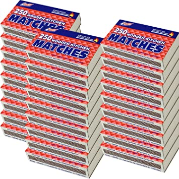 69098f2bbb5f8 Amazon.com  20 Packs Large Matches 5000 Total count Strike on Box ...