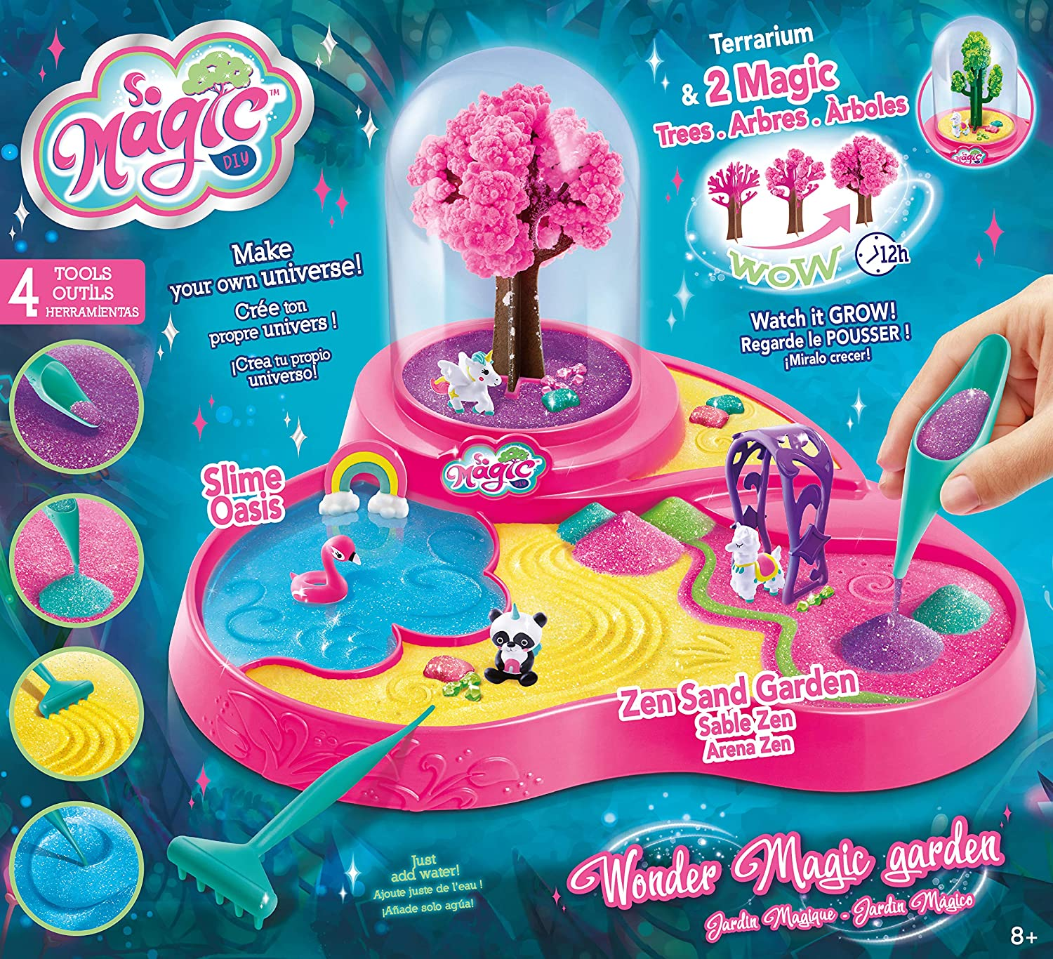 So Magic DIY- Jardín Mágico Playset, Color rosa (Canal Toys MSG004) , color/modelo surtido: Amazon.es: Juguetes y juegos