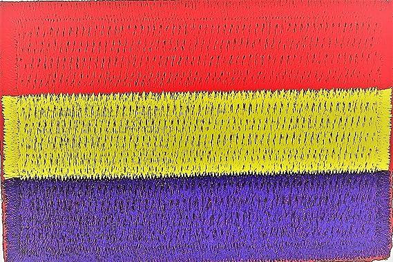 Gemelolandia Parche Bordado Termoadhesivo de la Bandera de la II República Española 5cm: Amazon.es: Ropa y accesorios