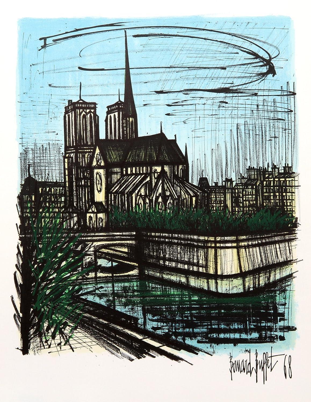Pleasant Amazon Com Notre Dame Bernard Buffet Fine Art Download Free Architecture Designs Remcamadebymaigaardcom