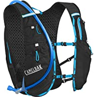 CamelBak Ultra 10 Vest 2L Hydration Pack, Black/Atomic Blue, One Size