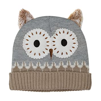 Aroma Home Click And Heat Knitted Owl Hat Amazon Health