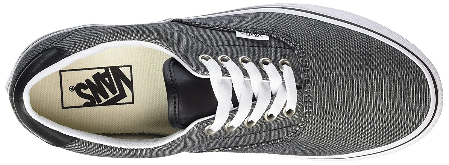 Vans Unisex Era 9.5 59 Skate Shoes B01I4B1ZL4 9.5 Era M US Women / 8 M US Men|Chambray/Black 99af0c