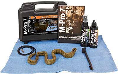 M-Pro 7 Tactical Pistol Bore Snake Cleaning Kit