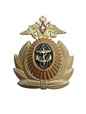 Ganwear/® russische Armee Milit/är Imperial Kleine Eagle Kosaken Trapper Uschanka M/ütze Kappe Barett Metall Pin Badge Kokarde