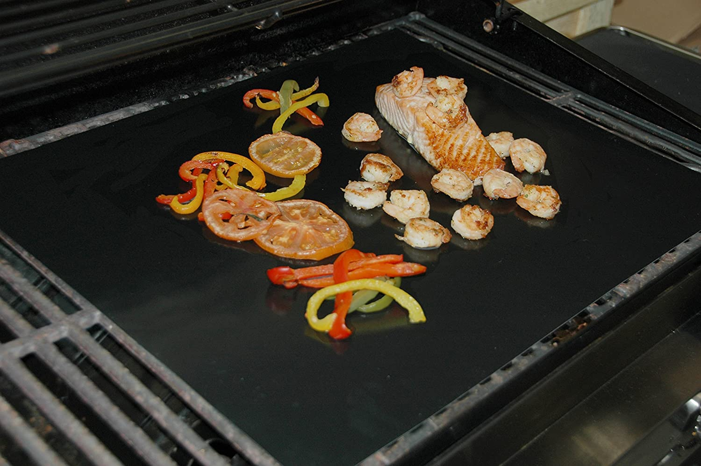 Grillmatte Für Gasgrill : Grillmatte eckig cm wiederverwendbare bbq grillmatte für