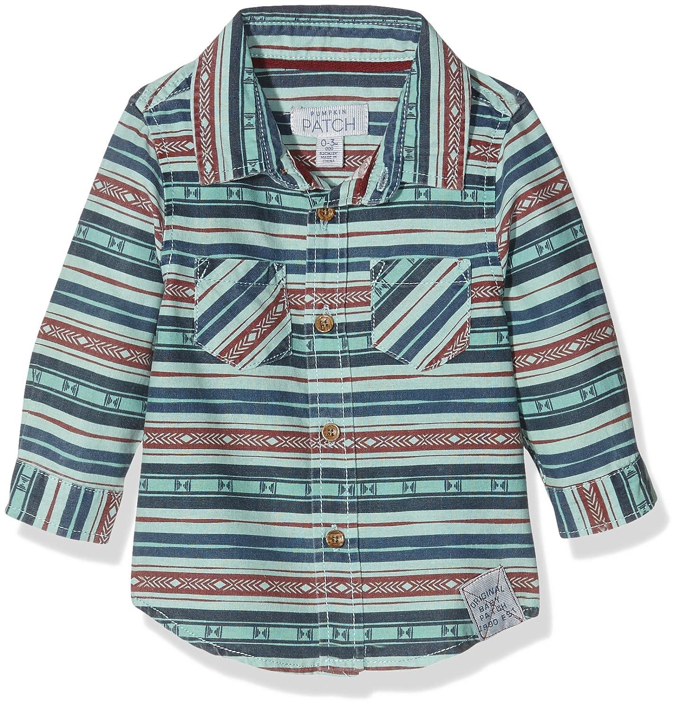 Pumpkin Patch Baby Boys' Blanket Print Polo Shirt 0-3 Months W6BB11007