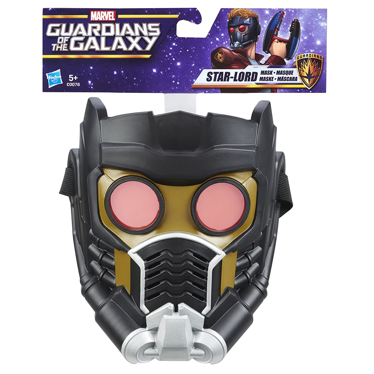 Mascara de star lord