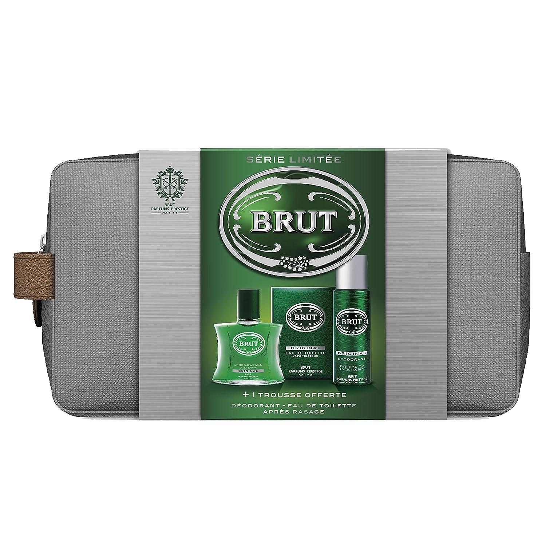 Brut Coffret Noel Eau de Toilette + Déodorant + Après Rasage Original 67196589