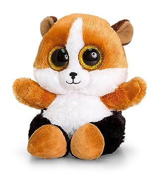 64d471bbdd611 Keel Toys SF0448 15 cm Animotsu Hamster Plush Toy  Amazon.co.uk ...
