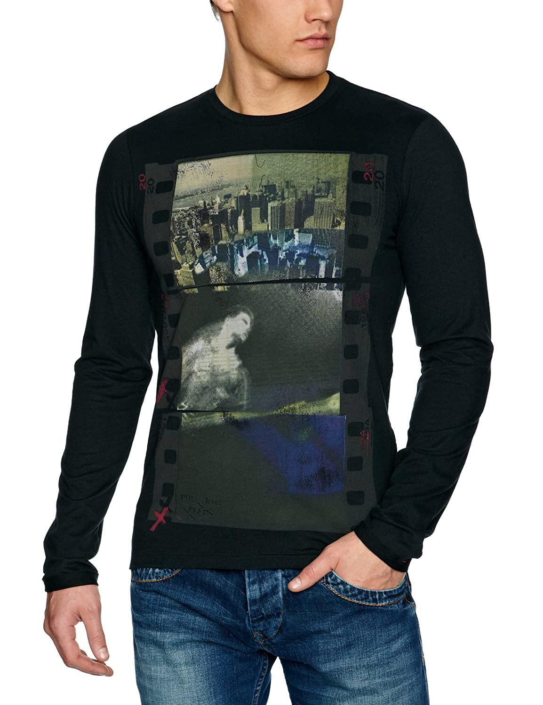 Pepe Jeans Jones - Camiseta con cuello de polo de manga larga para ...