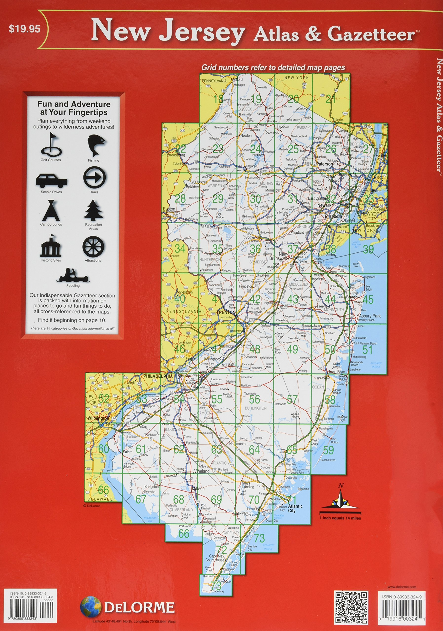 Delorme map library annual subscription card