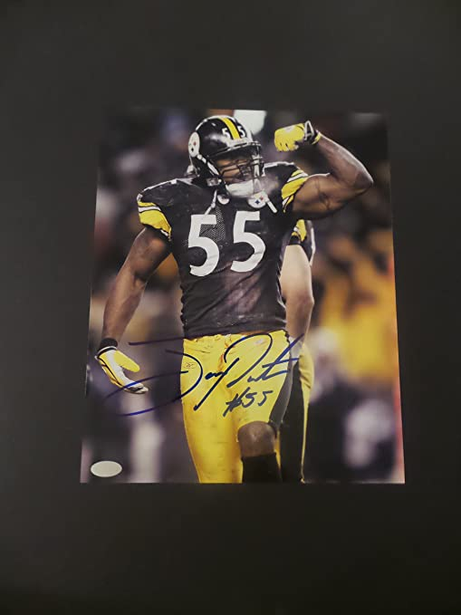 42eabd7767d Joey Porter Signed Pittsburgh Steelers Autographed 8x10 Photograph ...