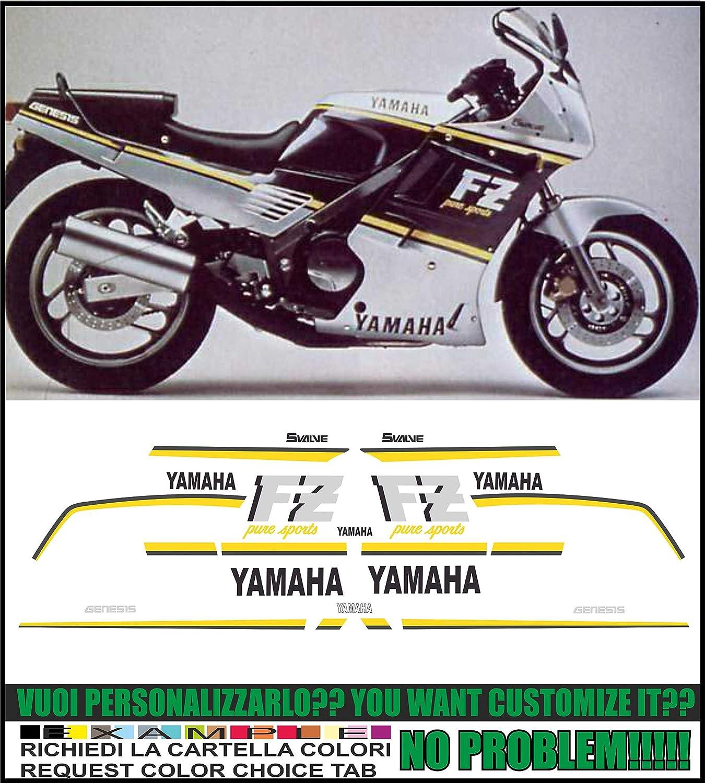 Kit adesivi decal stikers yamaha fz 750 genesis 1987 ability to customize the colors amazon co uk car motorbike