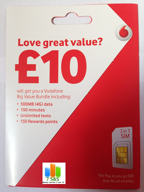Tarjeta Vodafone Paga sobre la marcha Nano Sim: Amazon.es ...