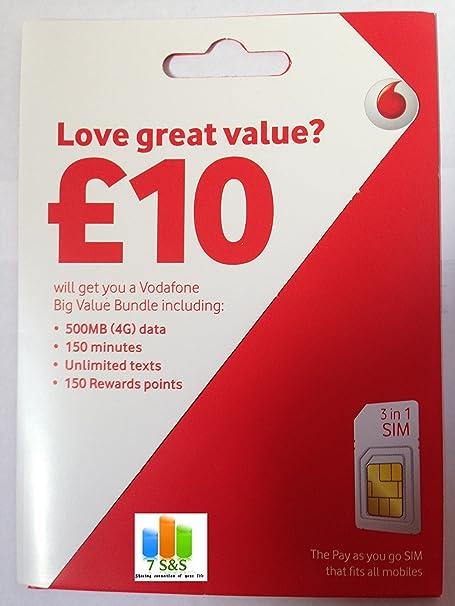 Nano Sim Karte Vodafone.Vodafone Zahlen Sie Go Nano Sim Karte Amazon De Elektronik