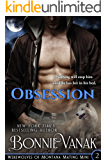 Obsession (Werewolves of Montana Mating Mini Book 2)
