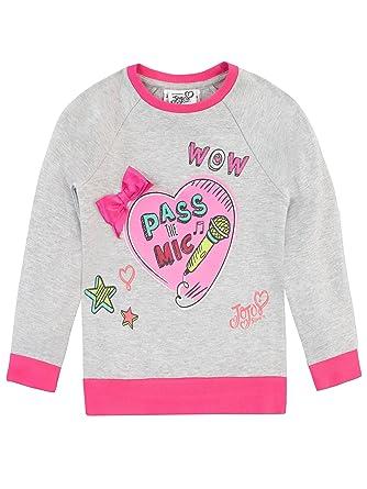 dbae99a3be2a JoJo Siwa Girls Jo Jo Sweatshirt: Amazon.co.uk: Clothing