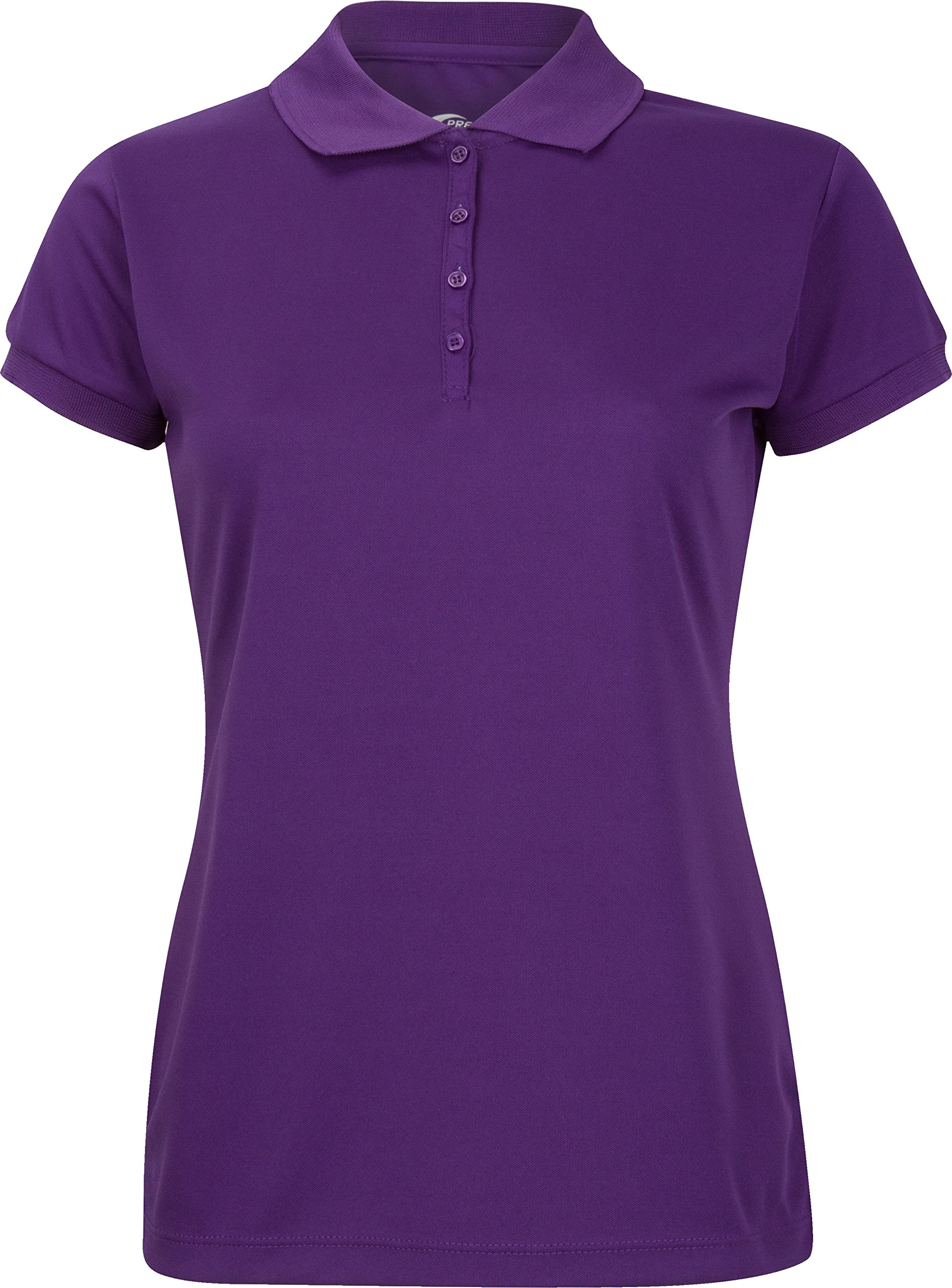 Premium Polo T-Shirt For Junior Girls – High-Performance Moisture Wicking Fabric