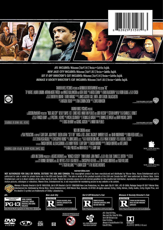 Amazon.com: 4 Film Favorites: Urban Life (ATL, New Jack City, Set It ...