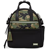 Skip Hop Nolita Neoprene Changing Bag Backpack - Black/Camo