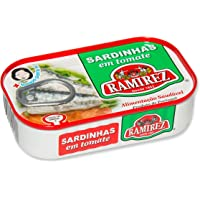 Lot de 30 Conserves Sardines à la Tomate Ramirez 125 g