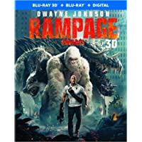 Rampage (Bilingual) [Blu-Ray 3D + Blu-Ray + Digital]