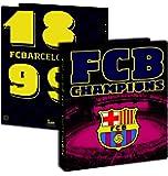 Classeur souple A4 Barça - Collection officielle FC BARCELONE