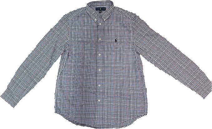 Ralph Lauren - Camisa Cuadros - NIÑO (8): Amazon.es: Ropa y accesorios