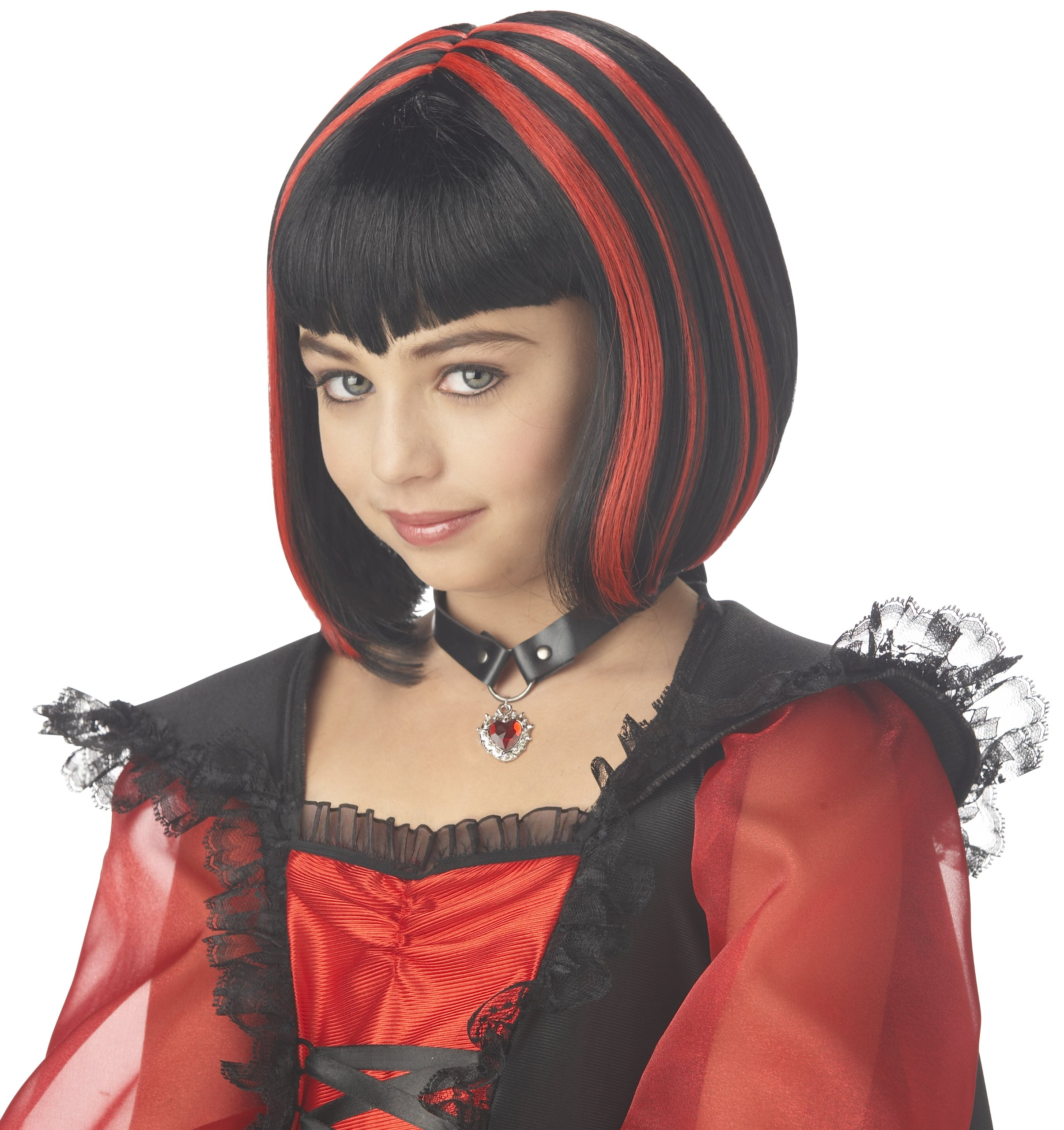Sweetly Gothic Child Vampire Costume Girl WIG product image