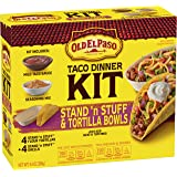 Old El Paso Stand 'N Stuff Hard and Soft Taco Dinner Kit 9.4 oz