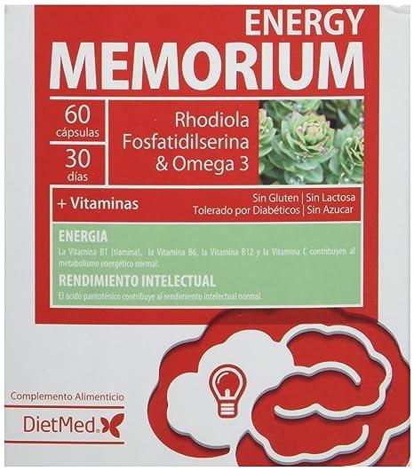 DietMed Memorium Energy - 60 Cápsulas