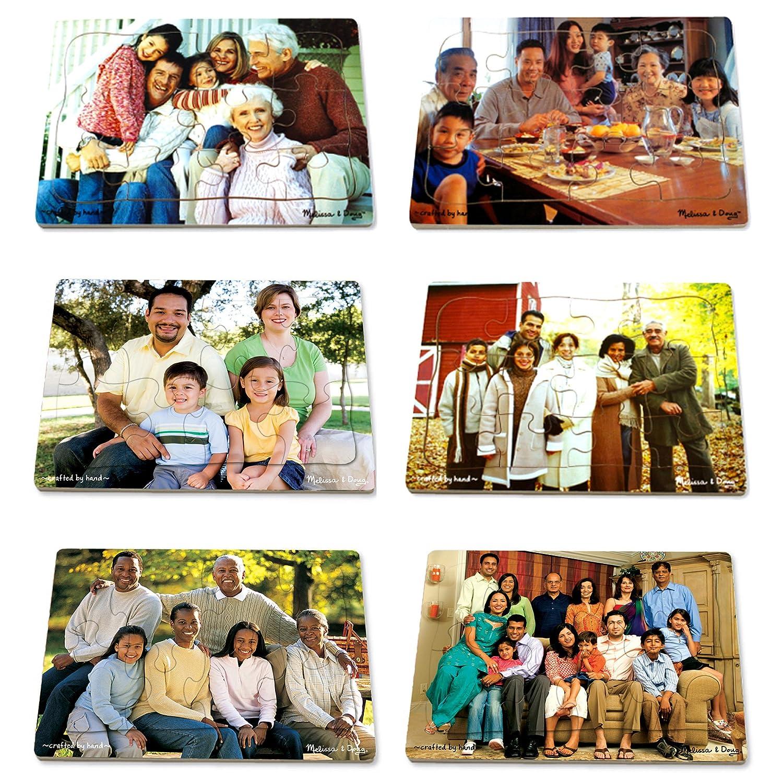 LIGHTS CAMERAインタラクションLCI1249現実的な多世代の多文化家族のパズルセット B0007KK0S0
