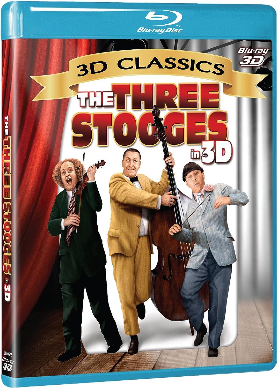 Americas got talent 2017 3 stooges - Amazon Com Three Stooges 3d Blu Ray Moe Howard Larry Fine Curly Howard Shemp Howard Various Movies Tv