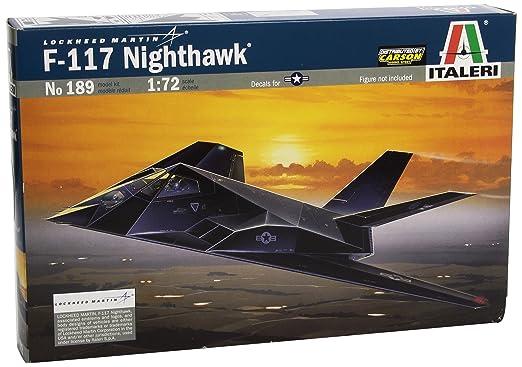 4 opinioni per Italeri IT0189 F-117A Nighthawk Model Kit Scala 1:72