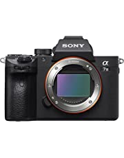Sony Alpha 7M3 E-Mount Vollformat Digitalkamera ILCE-7M3 (24,2 Megapixel, 7,6cm (3 Zoll) Touch-Display, Exmor R CMOS Vollformatsensor, XGA OLED Sucher, 2 Kartenslots, nur Gehäuse) schwarz