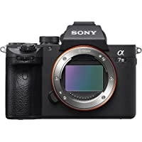 Sony Alpha 7M3 E-Mount Vollformat Digitalkamera ILCE-7M3 (24,2 Megapixel, 7,6cm (3 Zoll) Touch-Display, Exmor R CMOS Vollformatsensor, XGA OLED Sucher, 2 Kartenslots, nur Gehäuse) schwarz