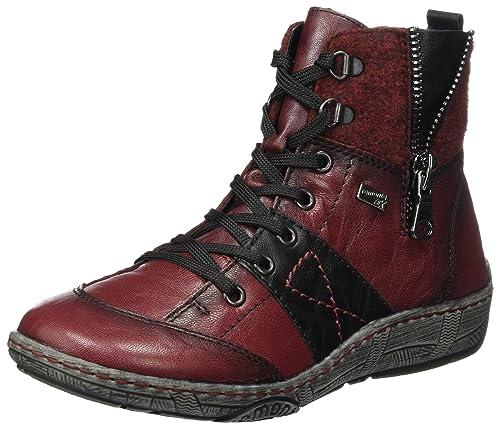 Womens D3890 Snow Boots, Asphalt/Schwarz, 4 UK Remonte