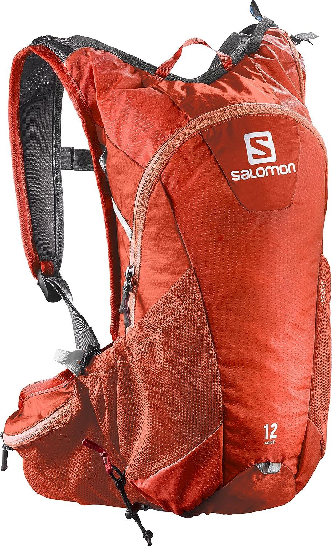 193d94bf Amazon.com : Salomon Bright Agile 12 Set Backpack, Red/White : Clothing