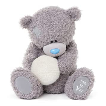 Me To You 14-inch Tatty Teddy Bear Holding a Fluffy Snowball Sits ...