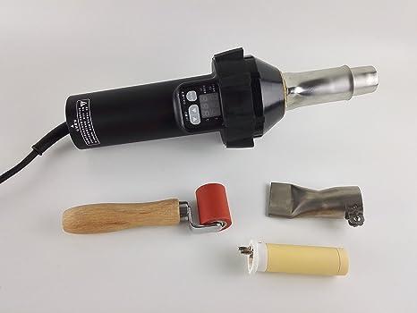 1600 W Digital pistola de aire caliente linterna de plástico Soldadura Soldador Pistola Pistola de calor