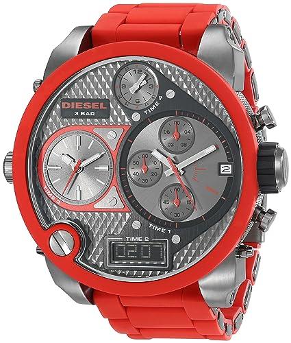 Diesel DZ7279 - Reloj analógico - Digital de Cuarzo para Hombre, Correa de plástico Color