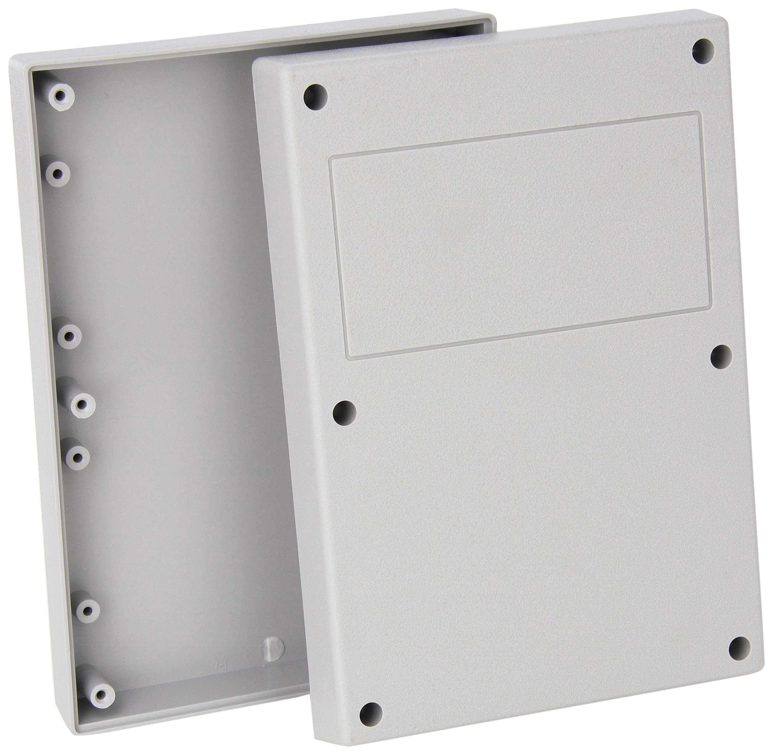 Serpac 171 ABS Plastic Enclosure, 6-7/8'' Length x 4-7/8'' Width x 1-1/2'' Height, Gray